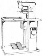 Машина для загибания краев кожаных деталей обуви Svit 01280-P1