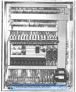Электрический щит затяжной машины Schon 640 TC