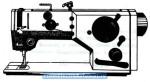 Minerva 72527-101, Промышленная швейная машина.