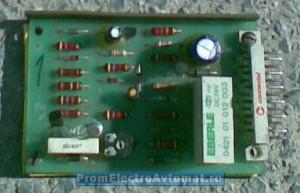 Малая (вспомогательная) электронная плата управления пресса Атом 999