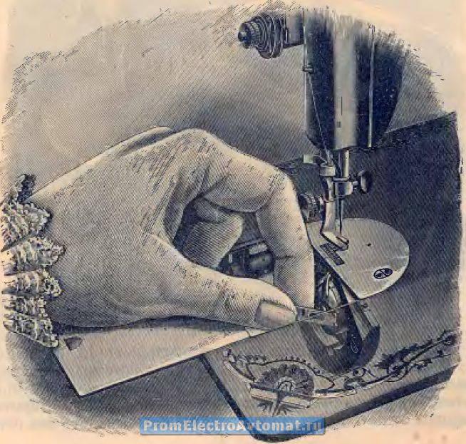 Инструкция к швейной машинки singer