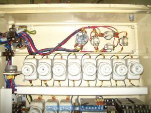 Zlin 06144. Машина для двоения и выравнивания по толщине. Шкаф управления. Силовая часть