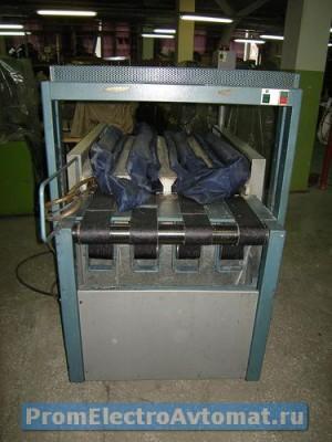 Установки влажно-тепловой обработки