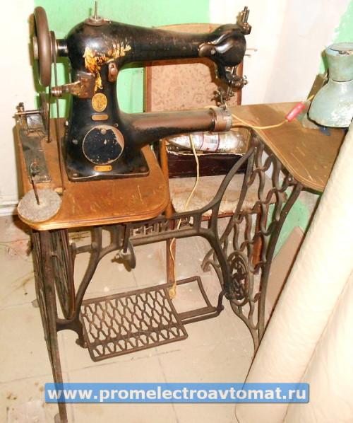 Швейная машинка Зингер 18-2, внешний вид