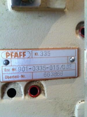 Промышленная швейная машина Pfaff 335