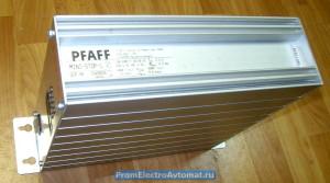 Электронный привод Pfaff, внешний вид