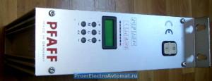 Электронный привод, передняя панель