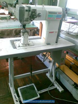 Швейная машина Пфафф с электронным приводом