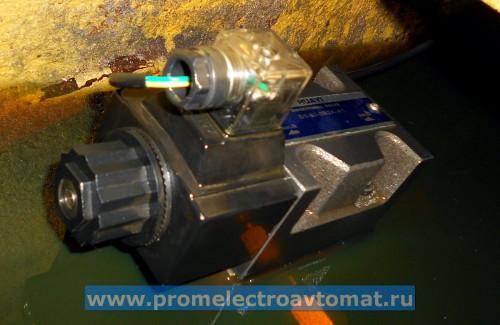 Соленоид гидросистемы включает направленный клапан HUAYI Directional Valve D5-03-0B2A-A1